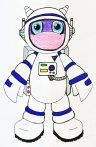 Blurbie astronaut 2