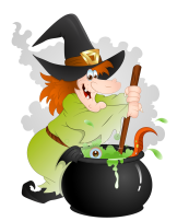 Halloween_Witch_with_Cauldron_PNG_Clipart
